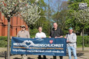 'Meer Menschlichkeit' Demo in Wilhelmshaven 2019