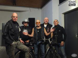 Band 'City' im Pumpwerk 2016
