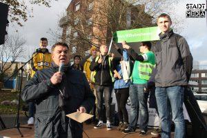 OB Feist nimmt Forderungen der F4F-Bewegung entgegen